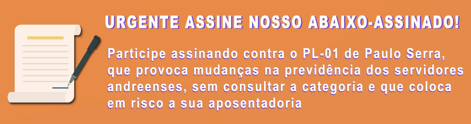 URGENTE ASSINE NOSSO ABAIXO-ASSINADO