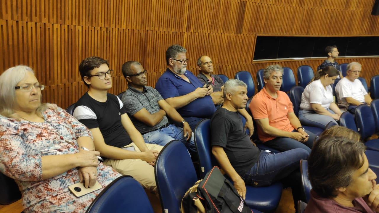 Imagem de Sindserv Santo André questiona dados do Orçamento Anual de 2020 em audiência pública com o Secretário de Finanças