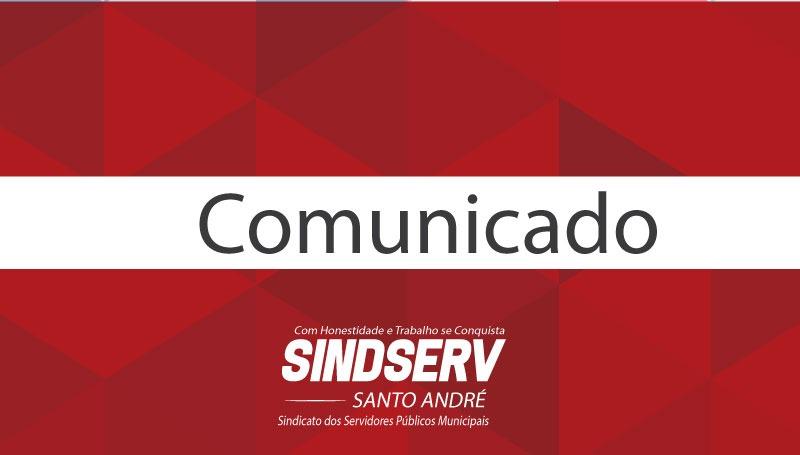 Imagem de Sindserv Santo André realizará Assembleia Geral nesta segunda-feira
