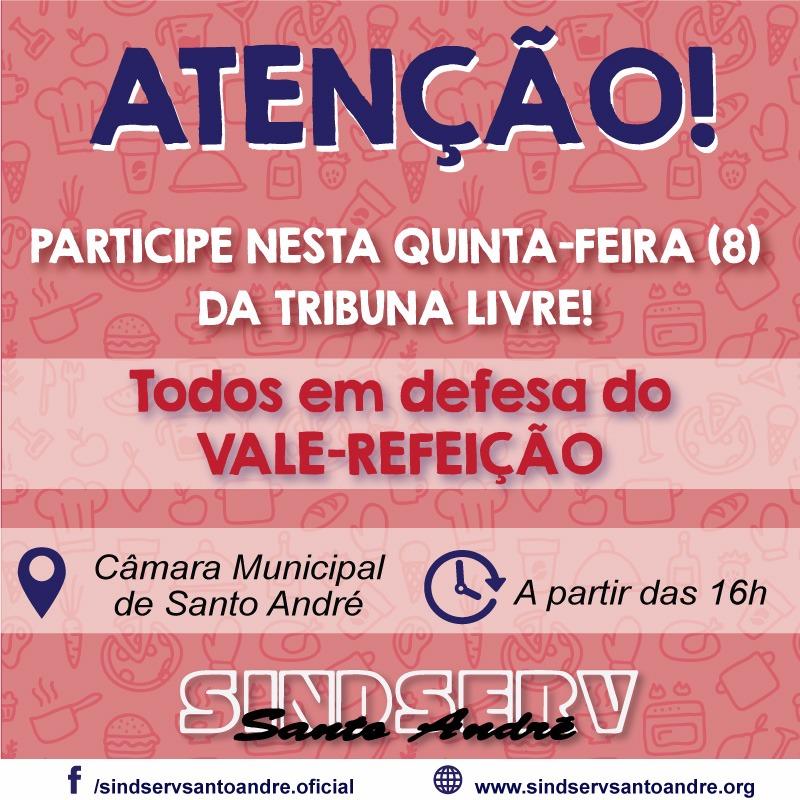 Imagem de Sindserv Santo André mobiliza categoria para defender pautas de interesse dos trabalhadores nesta quinta-feira (8), na Câmara