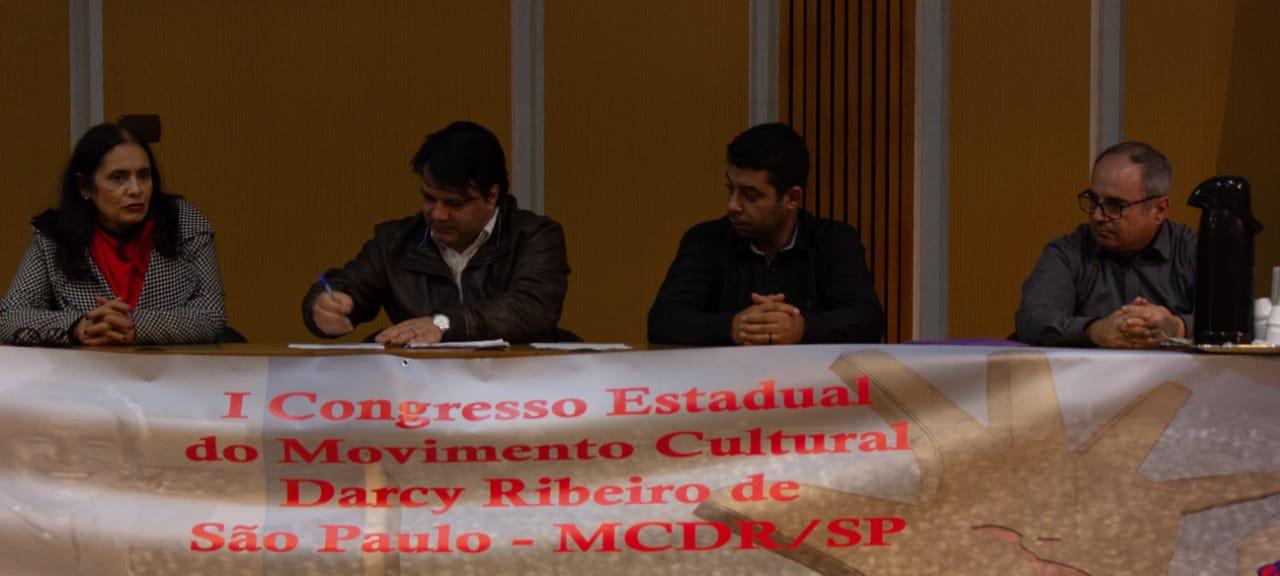 Imagem de Sindserv Santo André participa do 1º Congresso Estadual  do Movimento Cultural Darcy Ribeiro