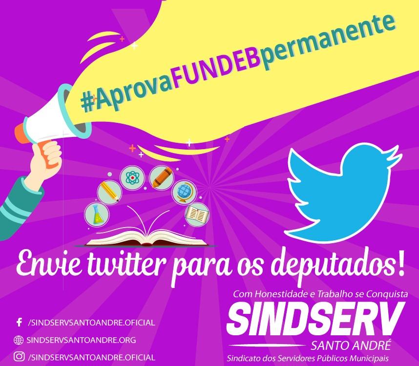 Imagem de Sindserv Santo André convoca servidores a pressionar deputados a votarem FUNDEB permanente