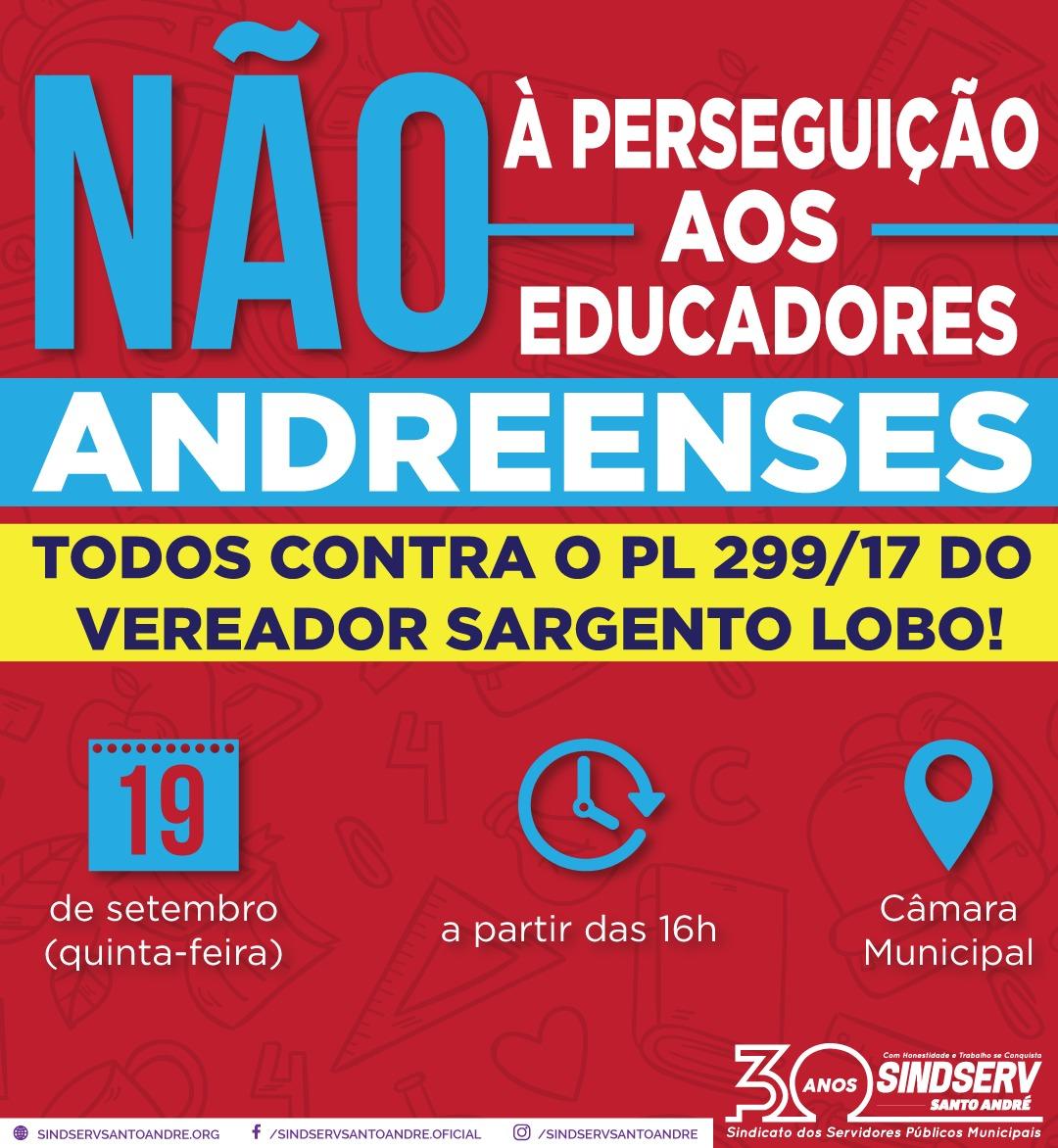Imagem de Nota de repúdio ao PL de Sargento Lobo reúne mais de 180 assinaturas de professores da rede municipal e UFABC,  pais de alunos e de entidades internacionais de Direitos Humanos