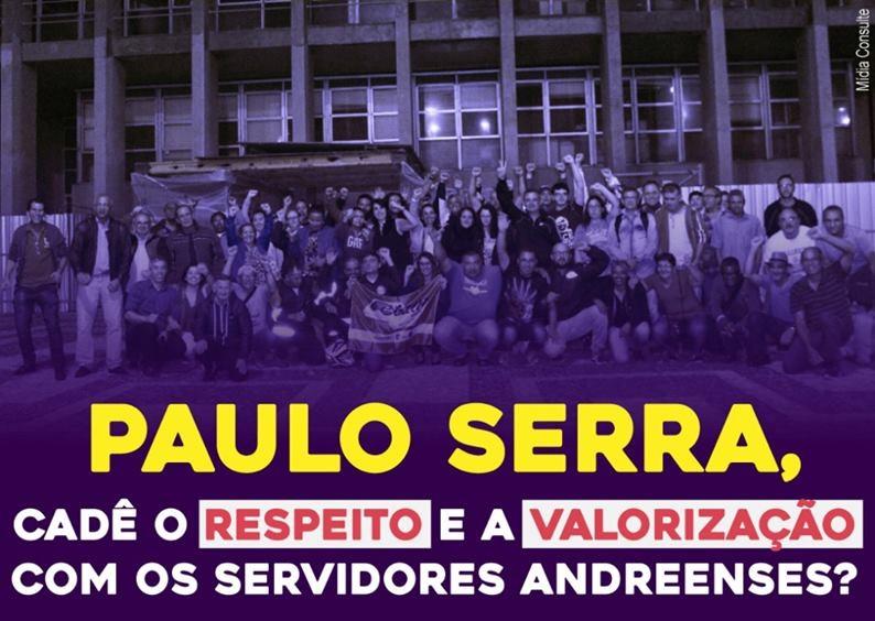 Imagem de Sindserv Santo André convoca servidores para ato na Câmara nesta quinta-feira (29)