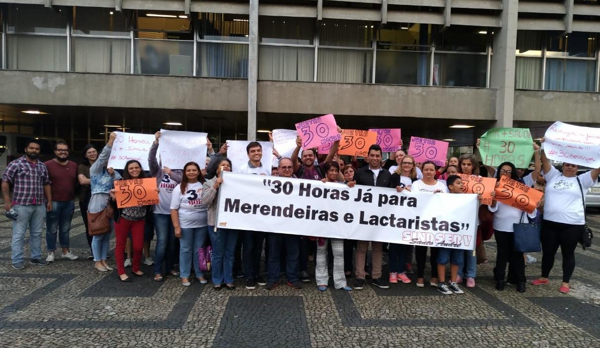 Imagem de Sindicato apoia jornada de 30 horas para merendeiras e lactaristas de Santo André