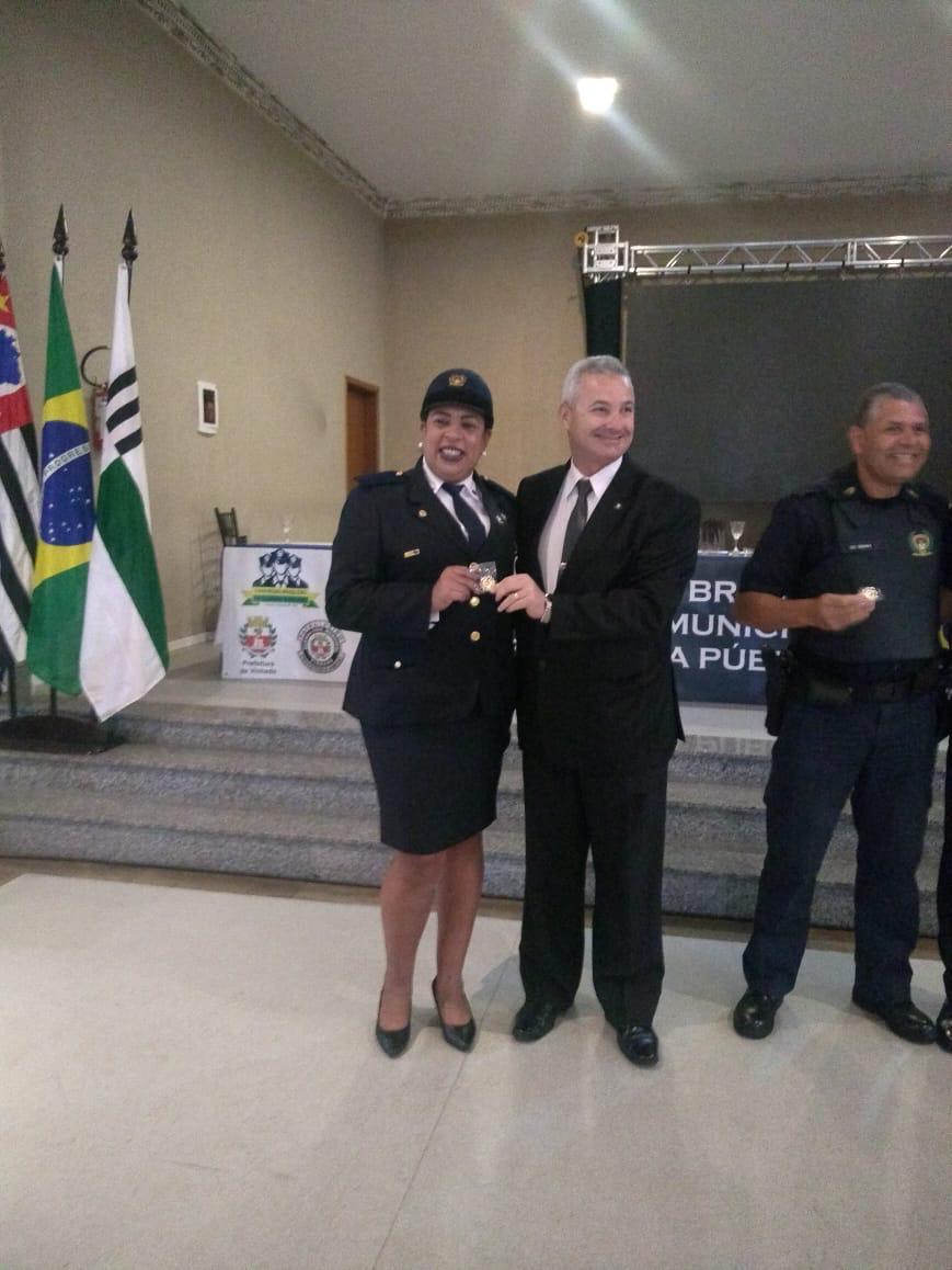 Imagem de Diretora do Sindserv Santo André recebe homenagem por fazer parte da Comissão do Encontro das Guardas Municipais Femininas de SP