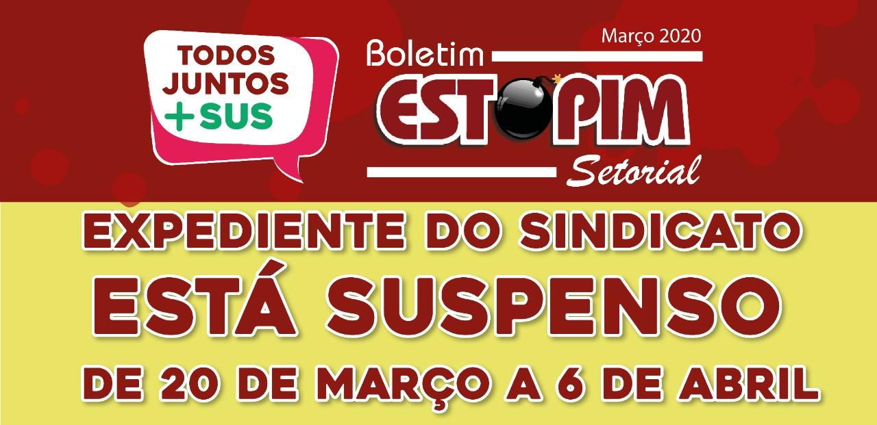 Imagem de Covid-19: Sindserv Santo André informa suspensão no atendimento na sede de 20/3 a 6/4