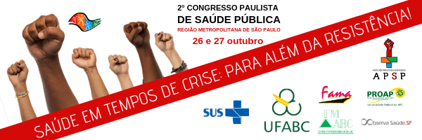 Imagem de 2º Congresso Paulista de Saúde Pública da região metropolitana acontece em outubro