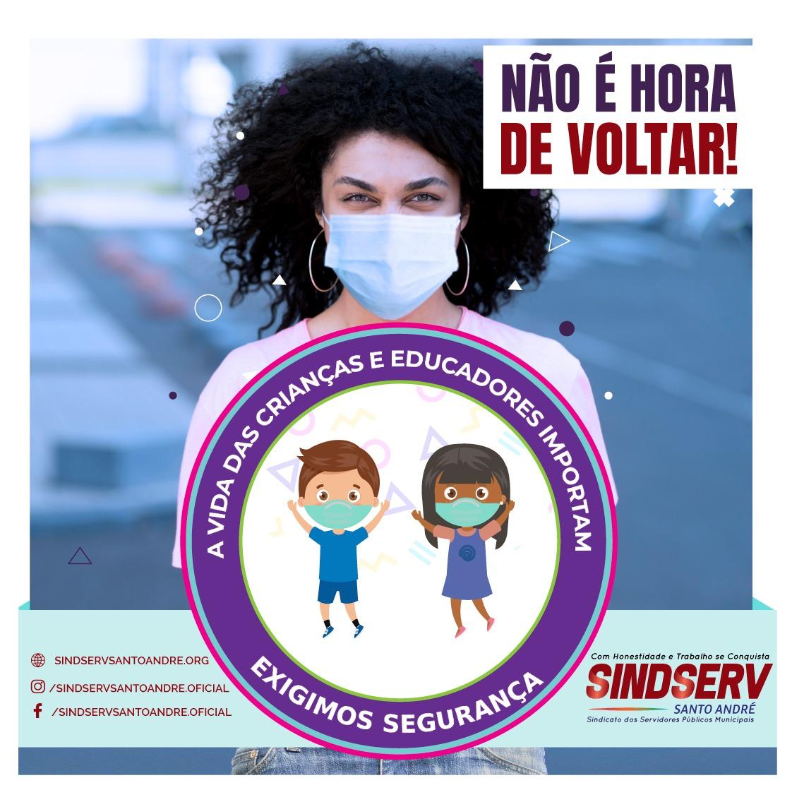 Imagem de Sindicato repudia retorno às aulas e pede a Secretaria de Educação que profissionais da educação sejam ouvidos