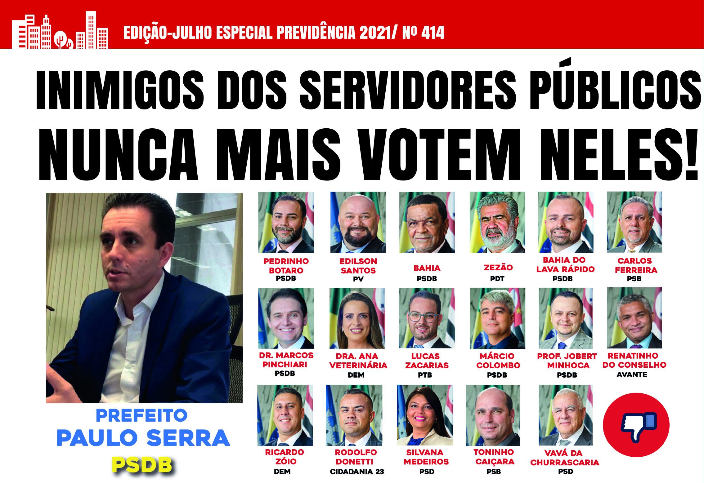 Imagem de Estopim Especial mostra a cara dos inimigos dos servidores públicos e agenda de lutas contra Reforma