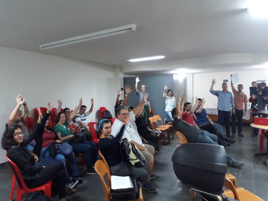 Imagem de Sindserv Santo André apoia luta dos Agentes Ambientais para readequação do cargo