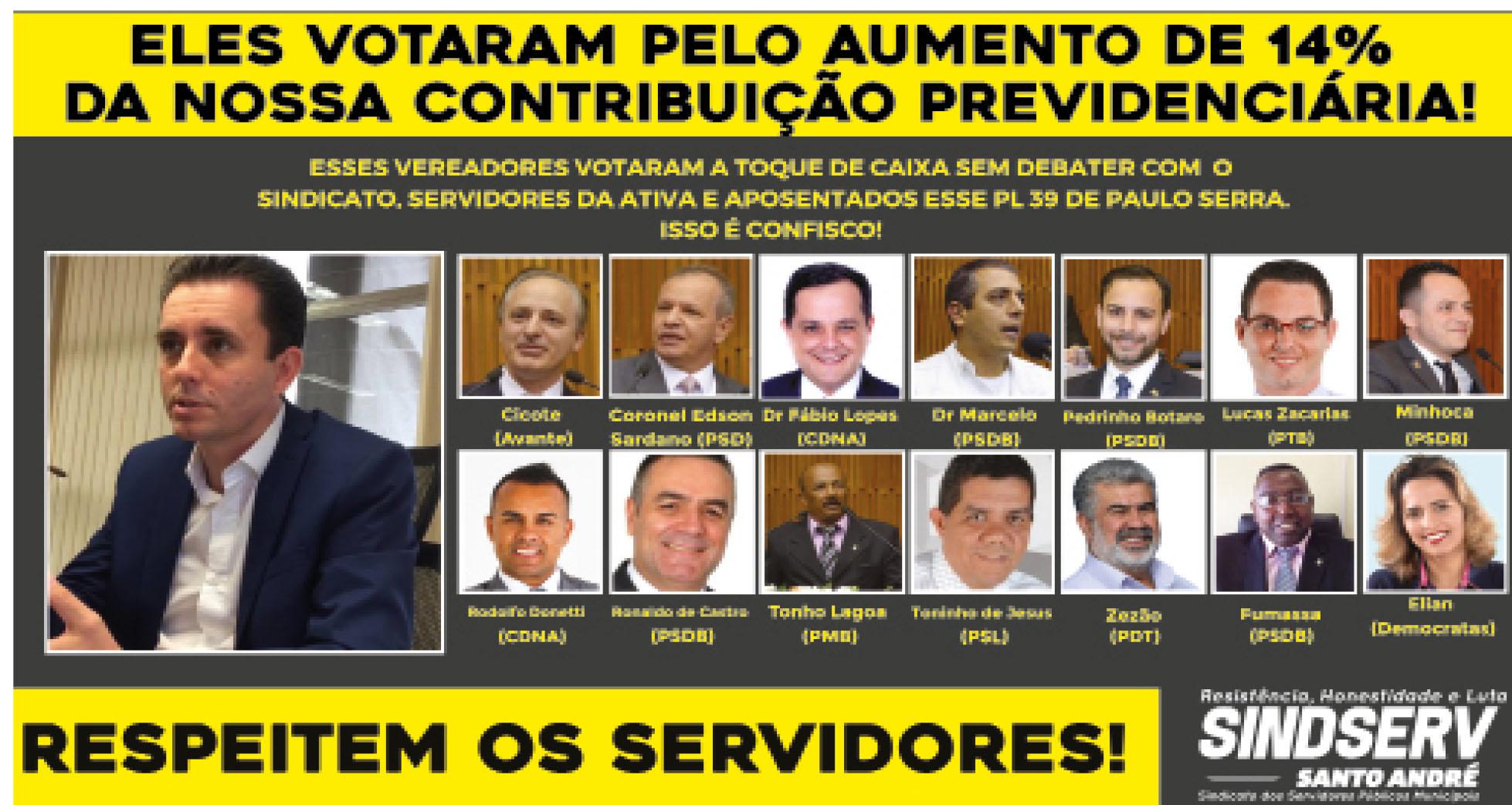Imagem de Confisco da Previdência: Lei de Paulo Serra entra em vigor