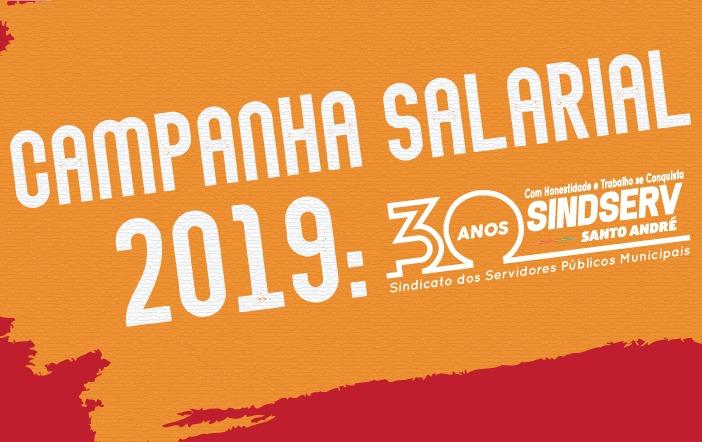 Imagem de Campanha Salarial 2019: Sindserv Santo André realiza Assembleia Geral nesta quarta-feira (24)
