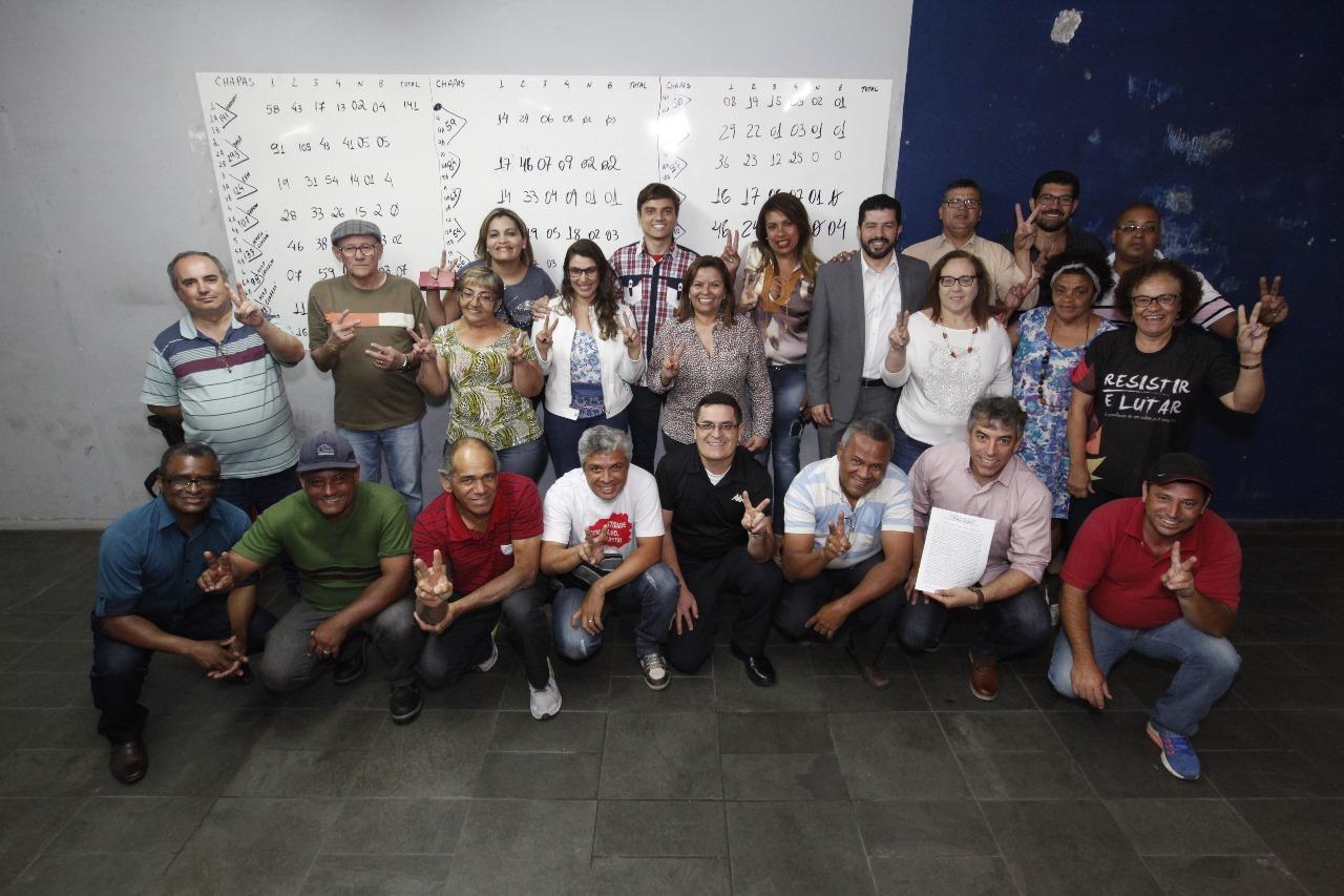Imagem de Direção do Sindserv Santo André completa 1 ano de mandato